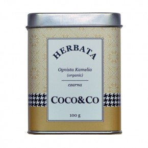 Czarna herbata Ognista Kamelia (organic)