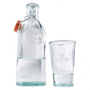 Karafka do wody ze szklanką