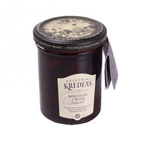 Konfitura wiśniowa z brandy