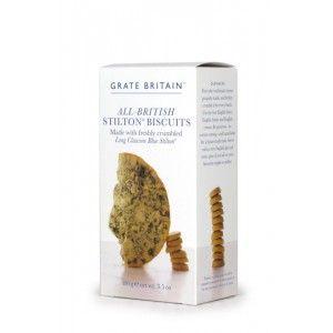 Great Britain All-British Stilton Crackers