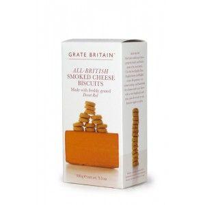 Great Britain All-British Smoked Cheese Crackers