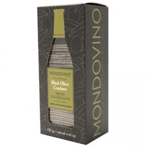 Mondovino - Black Olive Crackers