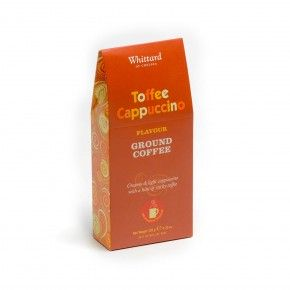 Toffee Cappuccino Ground Coffee