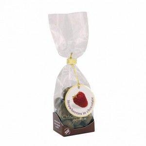 Truskawka w czekoladzie z kakao