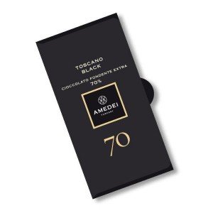 Dark Chocolate Bar Toscano Black 70%