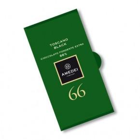 Dark Chocolate Bar Toscano Black 66%