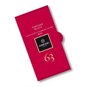Dark Chocolate Bar Toscano Black 63%