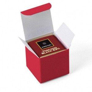 Box with 6 napolitains Dark Chocolate Toscano Black 63%