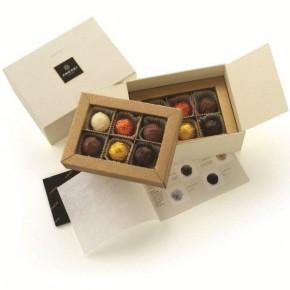 Tartufi Box with 12 pralines - Alcohol