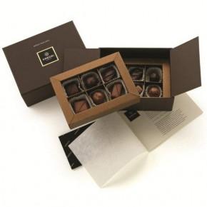 Meditazione Box with 12 Pralines - Alcohol