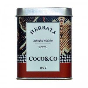 Czarna herbata Szkocka Whisky