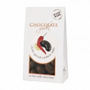 Orzechy nerkowca w mlecznej czekoladzie z chili