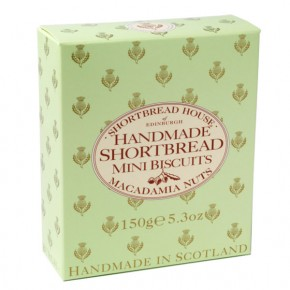 Box of Mini Shortbread - Macadamia Nut