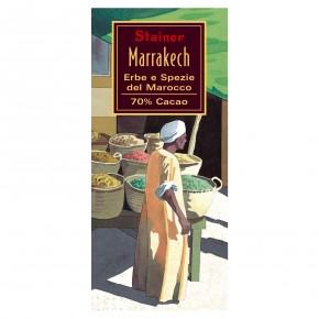 """""""Marrakech"""" Cioccolato Fondente 70% Cacao Erbe e Spezie del Marocco"""