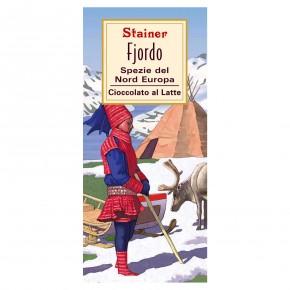 """""""Fjordo"""" Cioccolato al Latte Spezie del Nord Europa"""