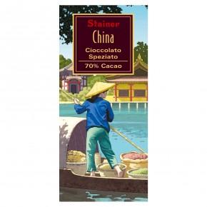 """""""China"""" Cioccolato Fondente 70% Cacao Speziato China"""
