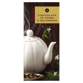 Cioccolato Fondente con Te Verde e Gelsomino