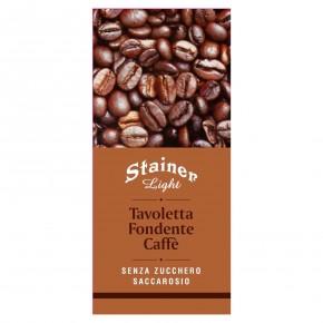 Tavoletta Fondente Caffe senza zucchero