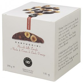 Cantuccini Cioccolato Extra Fondente e Nocciola Piemonte
