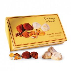 Amaretti Classici e Amaretti Tartufati al cacao