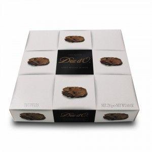 Trufle z czekolady deserowej