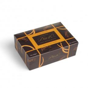 Trufle z czekolady deserowej z dodatkiem skórki pomarańczy