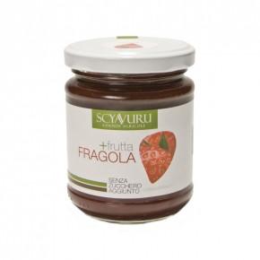 Confettura extra di Fragole senza zucchero