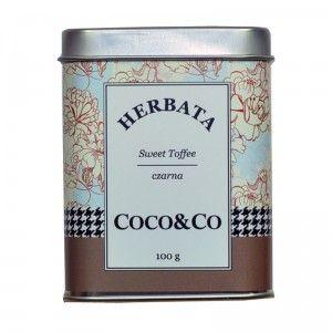 Czarna herbata Sweet Toffee