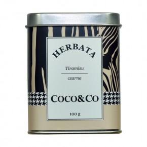 Czarna herbata Tiramisu