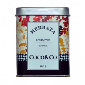 Czarna herbata Cranberries