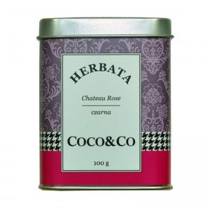 Czarna herbata Chateau Rose