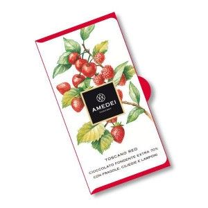 Bar Dark Chocolate and Red Fruits Toscano Red