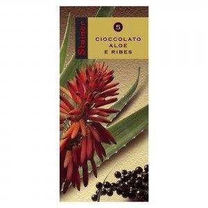 Cioccolato Fondente con Aloe e Ribes