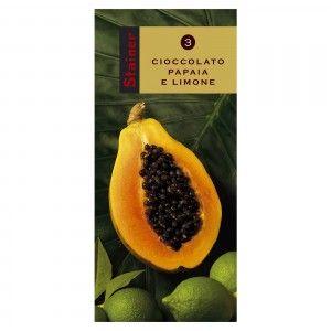 Cioccolato Fondente con Papaia e Limone