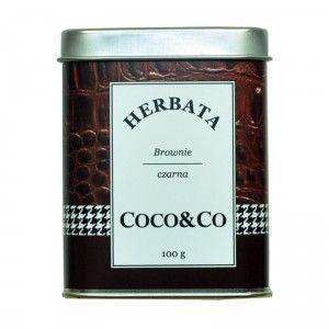 Czarna herbata Brownie